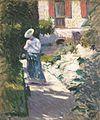 Gustave Caillebotte - Study for Les Dahlias, jardin du Petit Gennevilliers.jpg