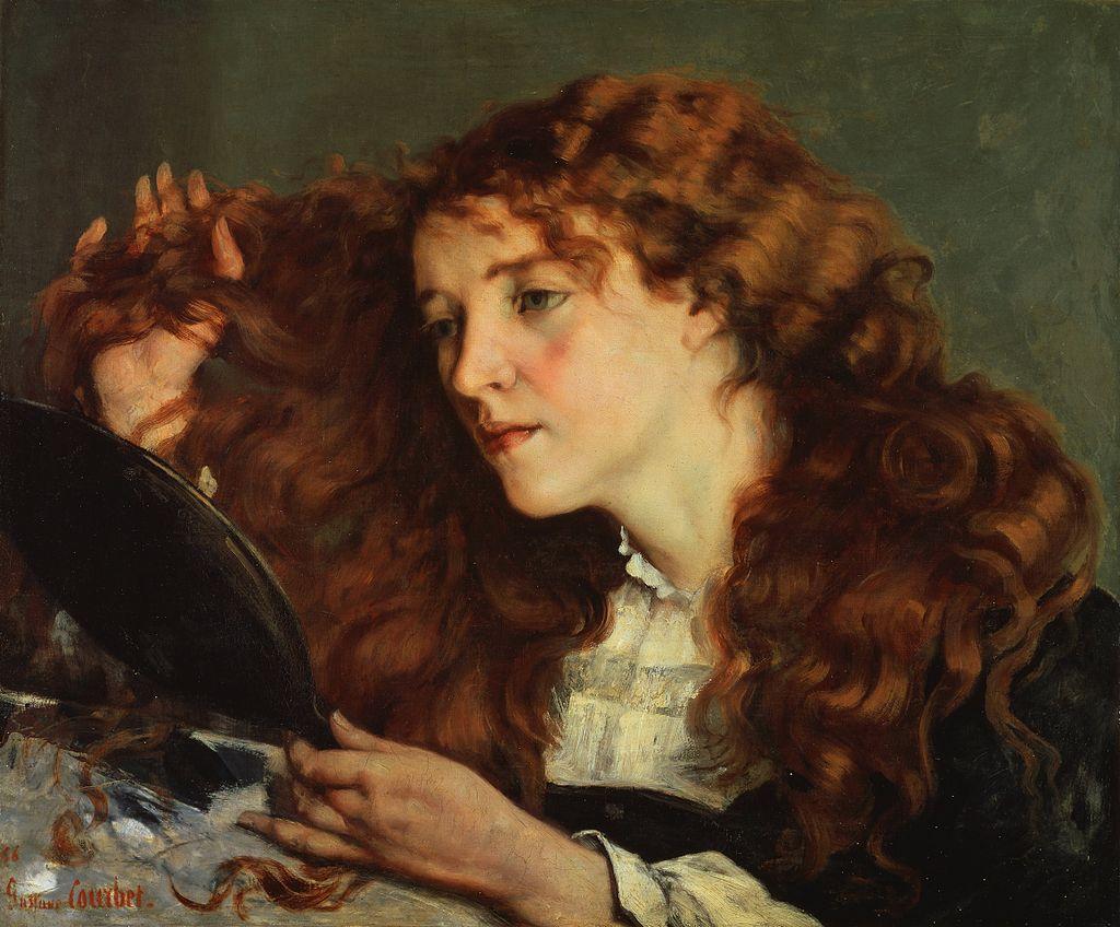 Jo, la belle Irlandaise, Gustave Courbet, 1856-66 - Cultea