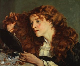 painting in four versions by Gustav Courbet