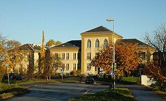 Ole Falck Ebbell - Image: Høyskolen i Sør Trøndelag på Rotvoll
