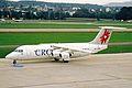 HB-IXT BAe 146-RJ100 Crossair ZRH 04SEP02 (8271192173).jpg