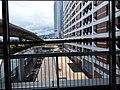 HK 上環 Sheung Wan Central footbridge view Rumsey Street Multi-Storey Car Park July 2019 SSG 01.jpg