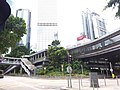 HK 中環 Central 天橋 footbridge 夏慤道 Harcourt Road August nearby 怡和大廈 Hutchison House August 2019 SSG 07.jpg