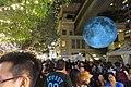 HK 灣仔 Wan Chai 利東街 Lee Tung The Avenue night 月球博物館 big Moon Museum by UK Luke Jerram October 2017 IX1 22.jpg
