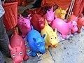 HK R10 Sheung Wan Sunday bazaar Evening Wing Lok Street toys 12-2009.jpg