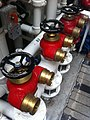 HK Wan Chai Queen's Road East Fire pipe heads Valves Aug-2011.jpg