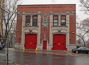 FDNY Engine 43, Ladder 59 station in Morris Heights