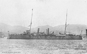 HMAS Psyche in 1916