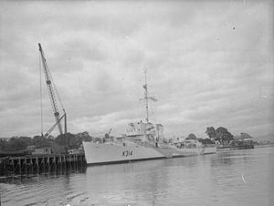 HMS Bentinck (K314) - Image: HMS Bentinck