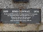HMS Conway memorial, Birkenhead (2).JPG