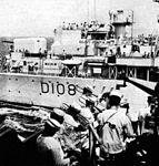 HMS Dainty (D108) bridge c1961.jpg