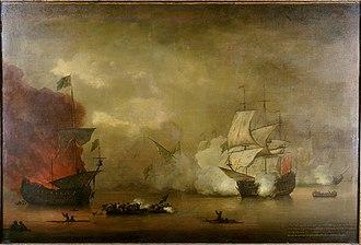 HMS Kingfisher (1675) - Image: HMS Mary Rose, Monamy