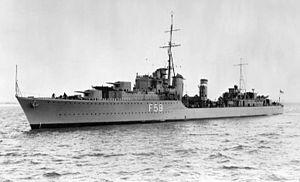 HMS Mashona (F59) - Image: HMS Mashona (F59)