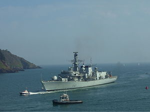 HMS Sutherland (F81) - Image: HMS Sutherland (F81) 1