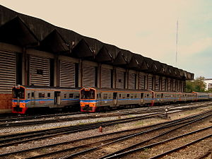 Greater Bangkok Commuter rail - Commuter rail at Hua Lamphong Railway Station