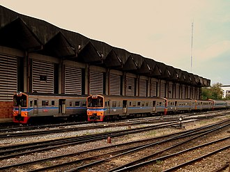 Rail transport in Bangkok - Commuter rail at Hua Lamphong Railway Station