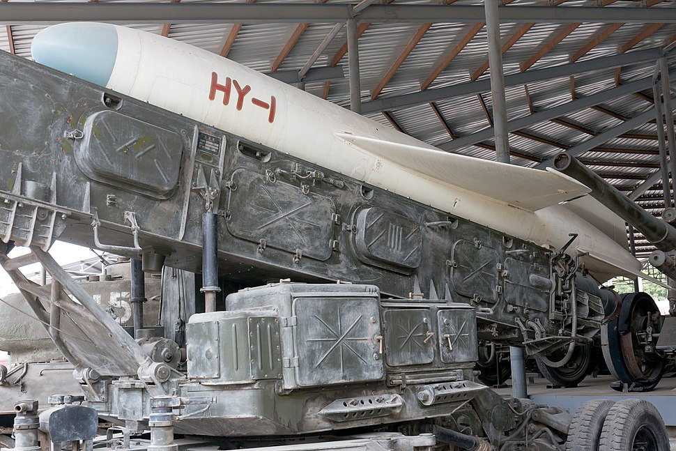 HY-1 shore-to-ship missile 2015 Military Museum Beijing