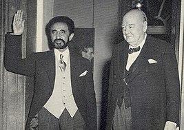 Haile Selassie Churchill