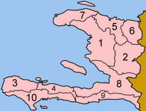 Departments of Haiti