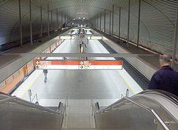 Hakaniemi metro istasyonu