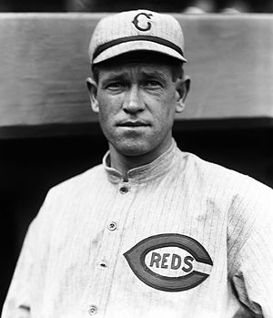 Hal Chase - Chase with the Cincinnati Reds in 1917.
