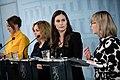 Hallituksen tiedotustilaisuus koronavirustilanteesta ja varautumisesta Suomessa 27.2.2020 (49591977407).jpg