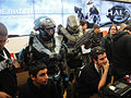Halo Anniversary LA Game Launch - Spartan and Master Chief (6381867619).jpg