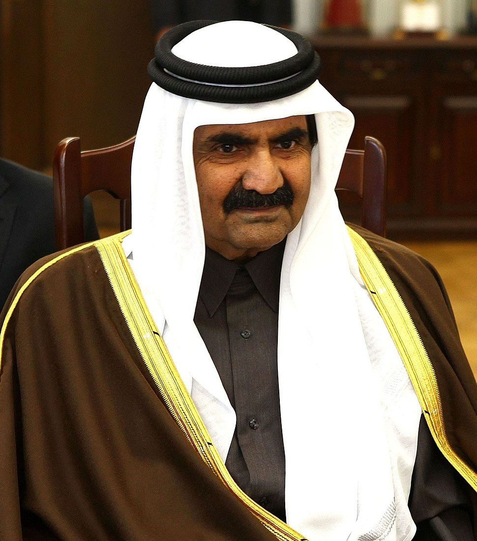 Hamad bin Khalifa Al Thani Senate of Poland (cropped)