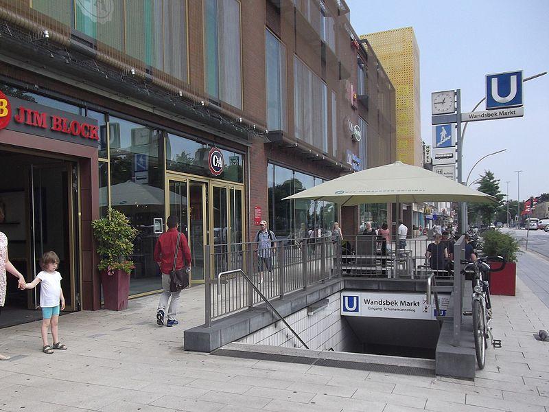 Wandsbeker Markt Hamburg