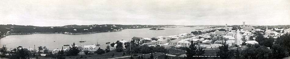 Panorama of Hamilton, 1911. View from Fort Hamilton.