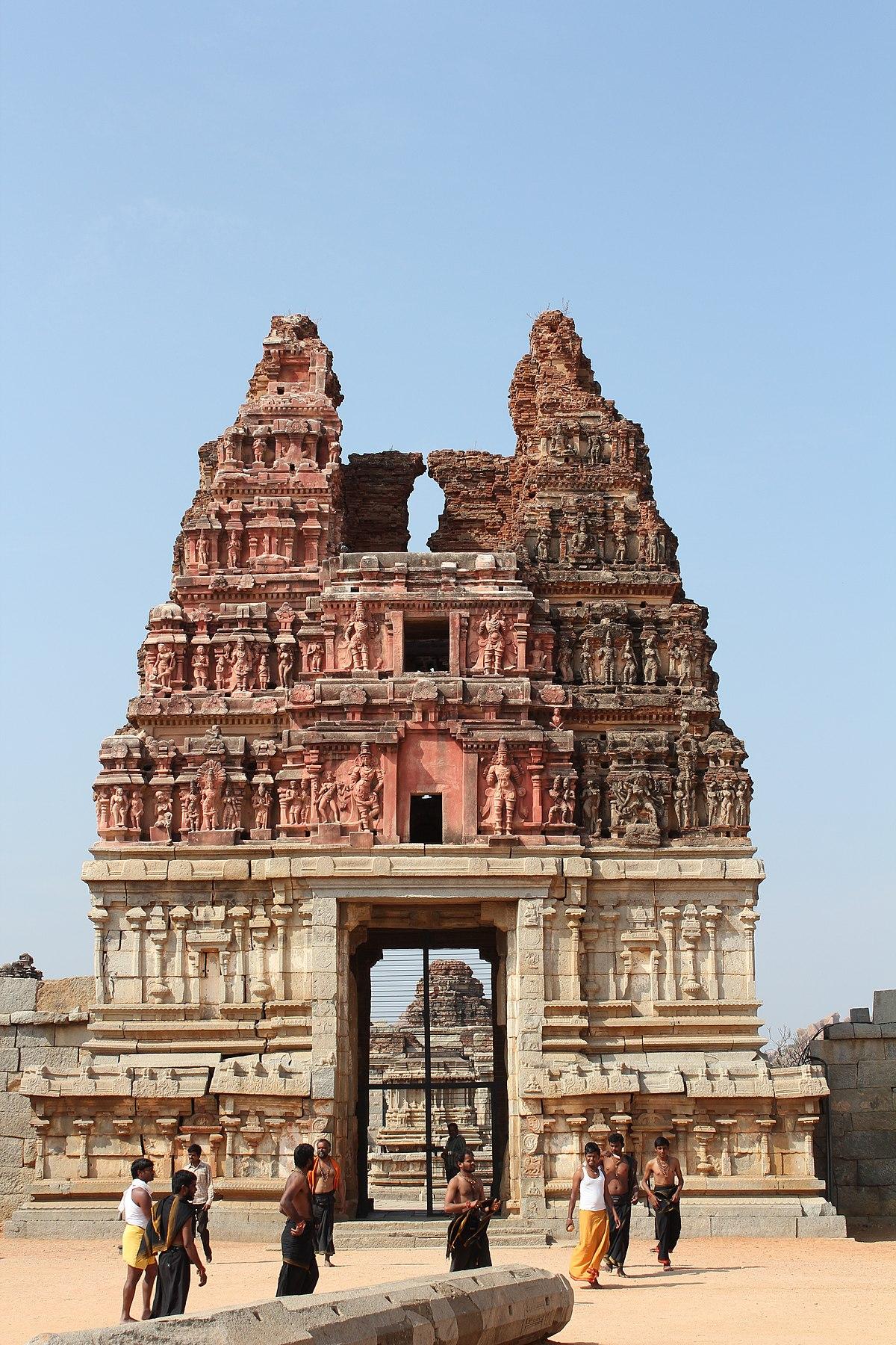 File Hampi Vittala Temple Eastern Gopuram 9881785004