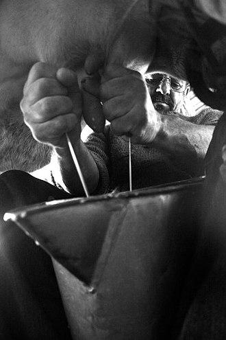 Milking - Hand milking