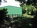 Hangar on Chalksole Green Farm - geograph.org.uk - 871273.jpg