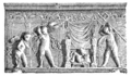 Harald Sund - San Vitale Ravenna - Relief from temple of Neptune.png