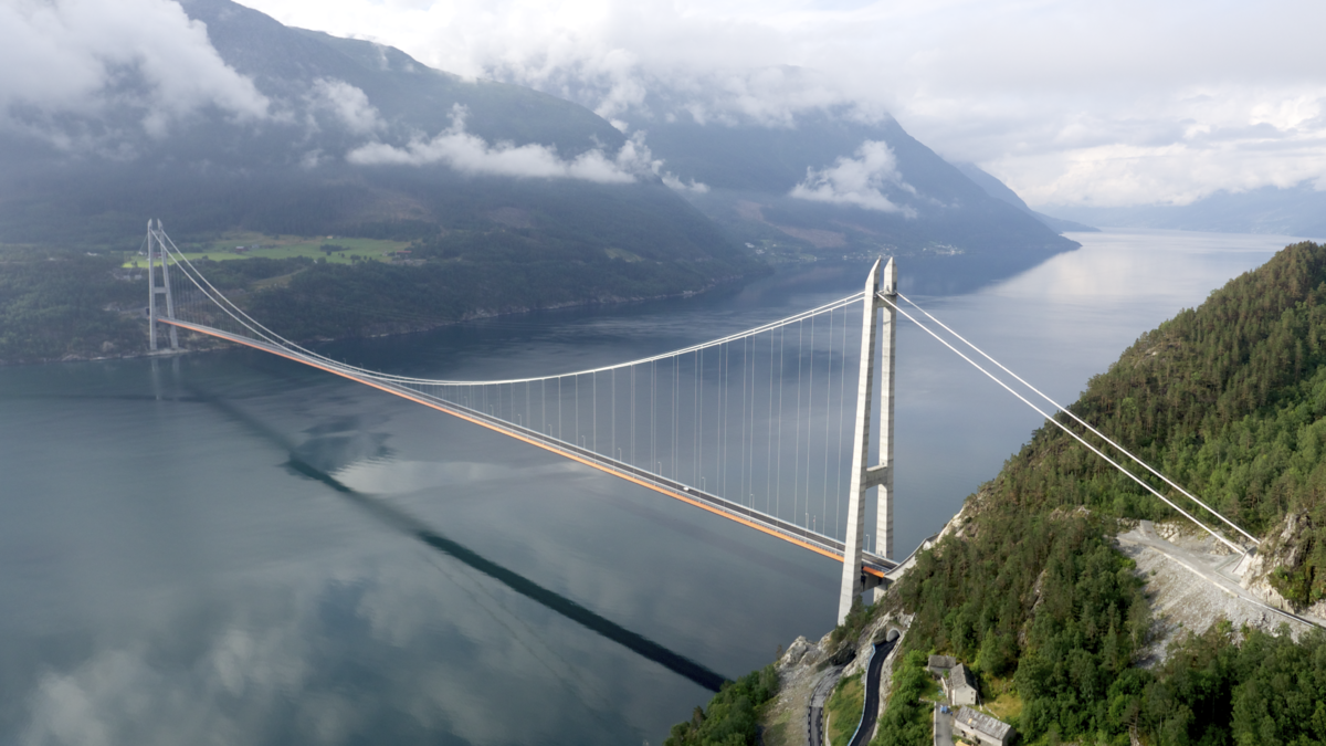 Image result for hardanger bridge