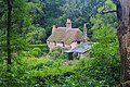 Hardy's Cottage as viewed north from Thorncombe Woods.jpg