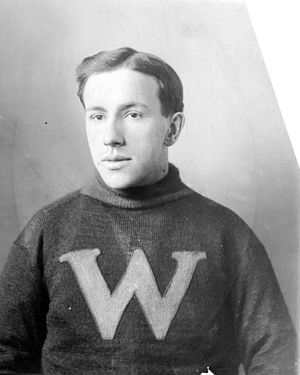 Harry Hyland - Hyland in 1912 with the New Westminster Royals.