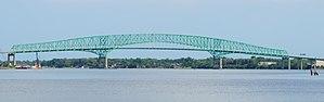 Continuous truss bridge - Image: Hart Bridge Jax
