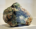 Harvard Museum of Natural History. Szenicsite. Jardinera No. 1 Mine, near Inca de Oro, Atacama, Chile (DerHexer) 2012-07-20.jpg