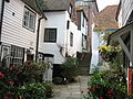 Hastings old town passage.JPG