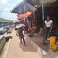 Hawking of beverage and bread local itoku market 05.jpg
