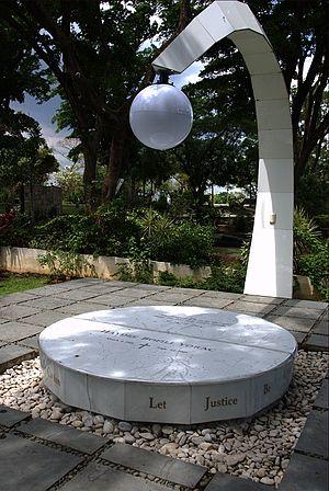 Haydee Yorac - Haydee Yorac's tomb at the Libingan ng mga Bayani.