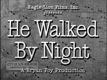 Description de l'image  He Walked by Night (1948).png.