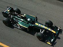 Photo de la Lotus T127 de Hovalainen à Monza