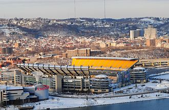 Pittsburgh Steelers - Heinz Field, current home of the Pittsburgh Steelers.