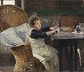 Helene Schjerfbeck (1862-1946)- The Convalescent - Toipilas - Konvalescenten (32721924996).jpg