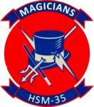 Helicopter Maritime Strike Squadron 35 (US Navy) insignia 2016.png