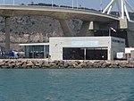 Heliport de Barcelona (Moll Adossat) vist des del mar 05.jpg
