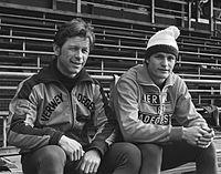 Henk Gemser, Bert de Jong 1977.jpg