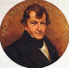 Retrato do Arquiteto Grandjean de Montigny